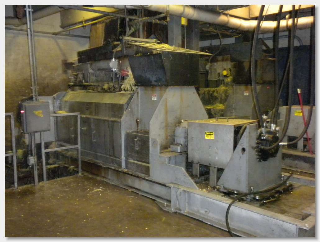 обезвоживание отходов кукурузного консервного завода vincent vp 22
