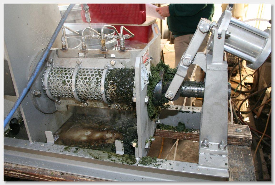 Винсент CP-4 переработка водорослей